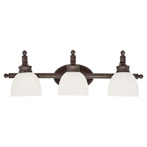 Stokley 3-Light Vanity Light