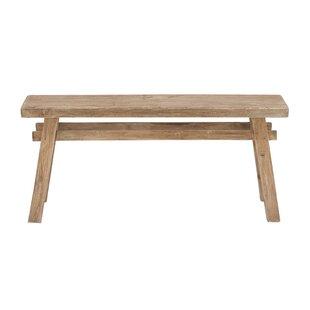 Crader Wooden Bench