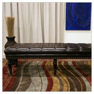 Baxton Studio Lexington Bonded Leather Bench