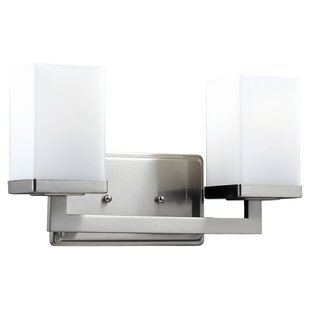 Price comparison Arreola 2-Light Vanity Light By Wade Logan