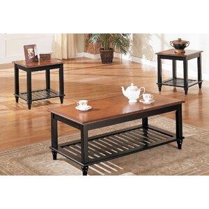 Cartlen 3 Piece Coffee Table Set