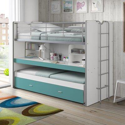 Hochbett Briggs mit Bettkasten  90 x 200 cm | Kinderzimmer > Kinderbetten > Hochbetten | Isabelle & Max