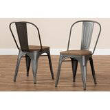 Mauer Stackable Dining Chair (Set of 2) by Williston Forge