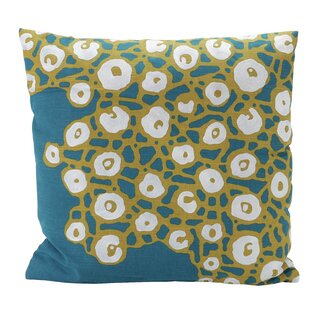 Geo Web 100% Cotton Throw Pillow