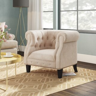 Alvy Chesterfield Chair by Willa Arlo Interiors SKU:DA610685 Order