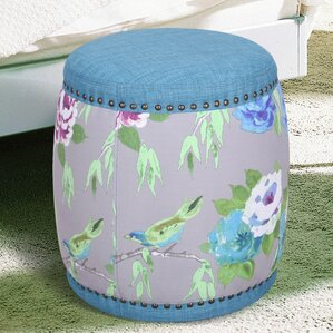 Oriental Style Ottoman by Adeco Trading