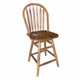 Solid Wood Slat Back Side Chair by Chelsea Home