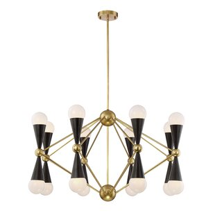 Brayden Studio Canady 16-Light Chandelier