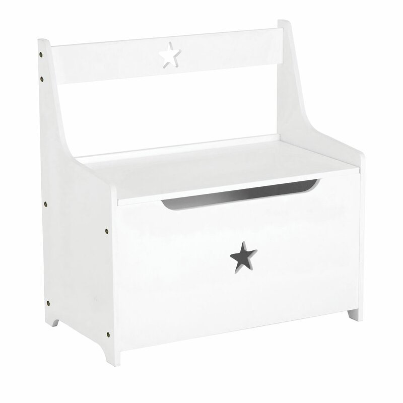 Alejandra Kids Toy Storage Bench