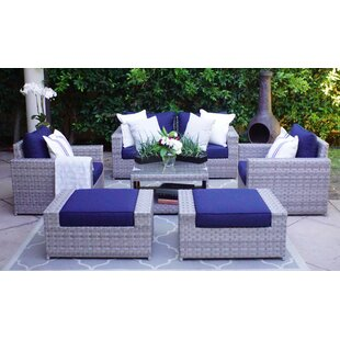 Burkley 7 Piece Sectional Set with Cushions