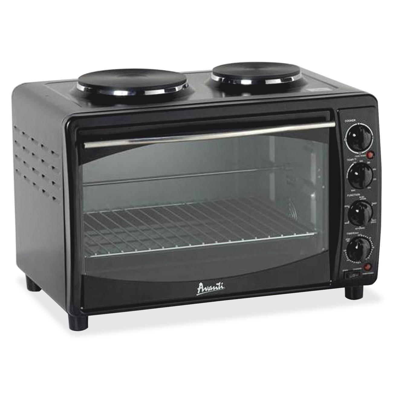 Avanti Mini Kitchen Electric Free Standing Range U0026 Reviews   Wayfair