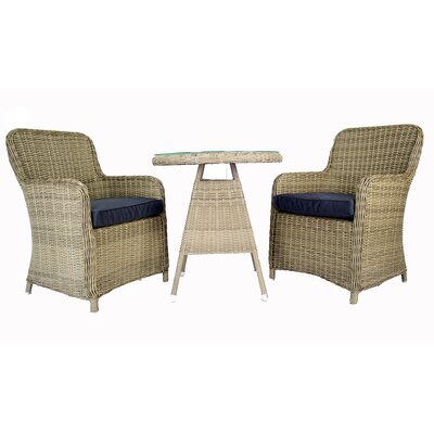 Heldt 3 Piece Bistro Set by Latitude Run Best Design
