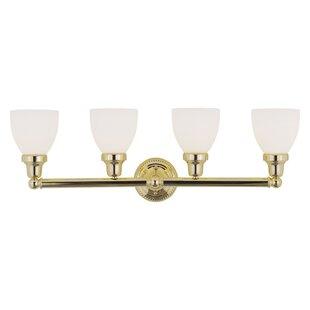 Three Posts Silverton 4-Light Vanity Light