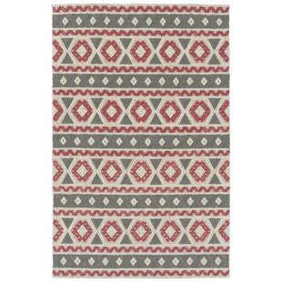 Poynor Hand-Tufted Gray Indoor/Outdoor Area Rug