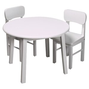 Kids 3 Piece Table and Chair SetModern Kids Table   Chair Sets   AllModern. Preschool Chairs Free Shipping. Home Design Ideas
