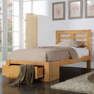 Lara Storage Bed Frame By Natur Pur