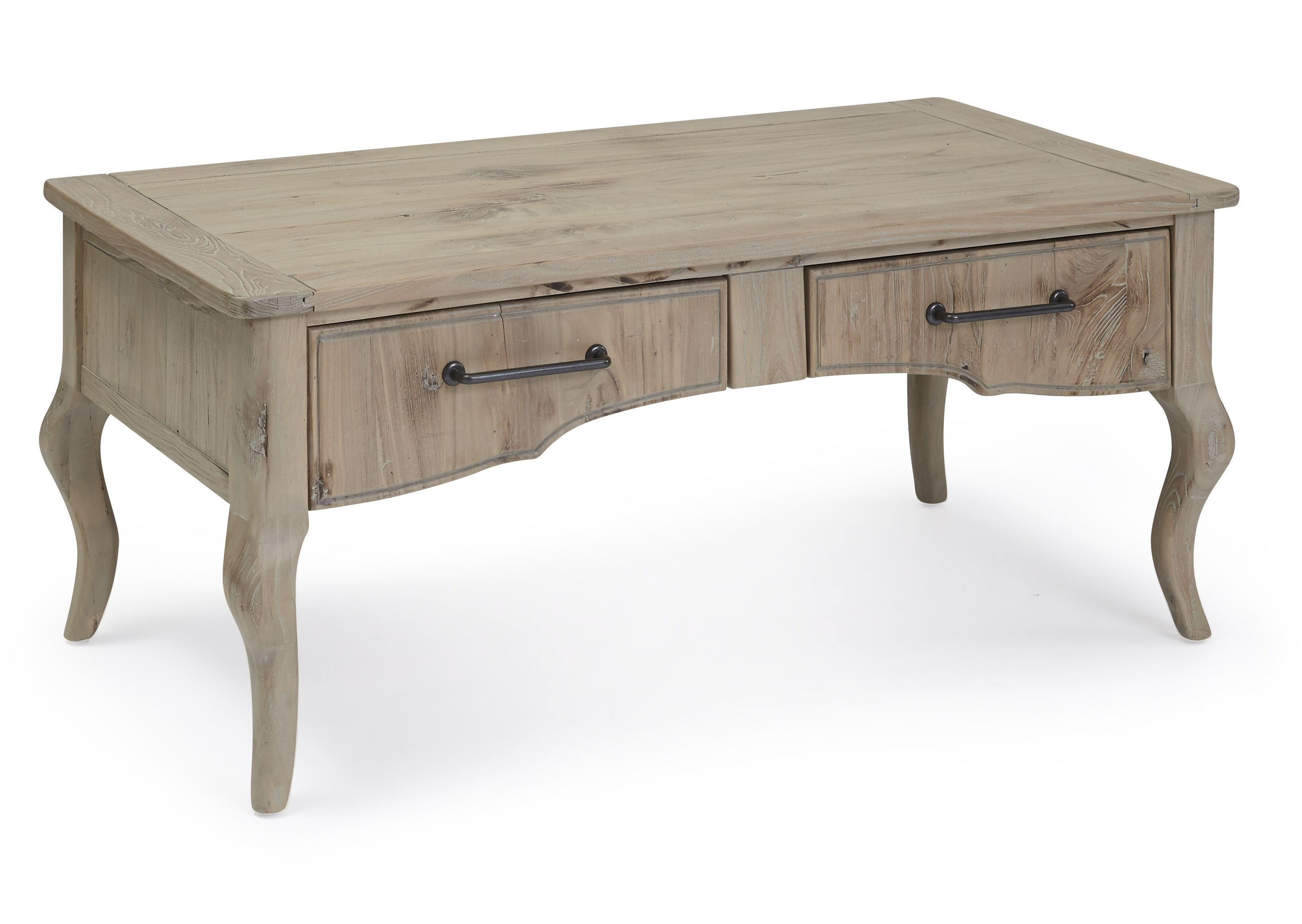 coffee large attributed drawers to burl product table with henredon wood drawer
