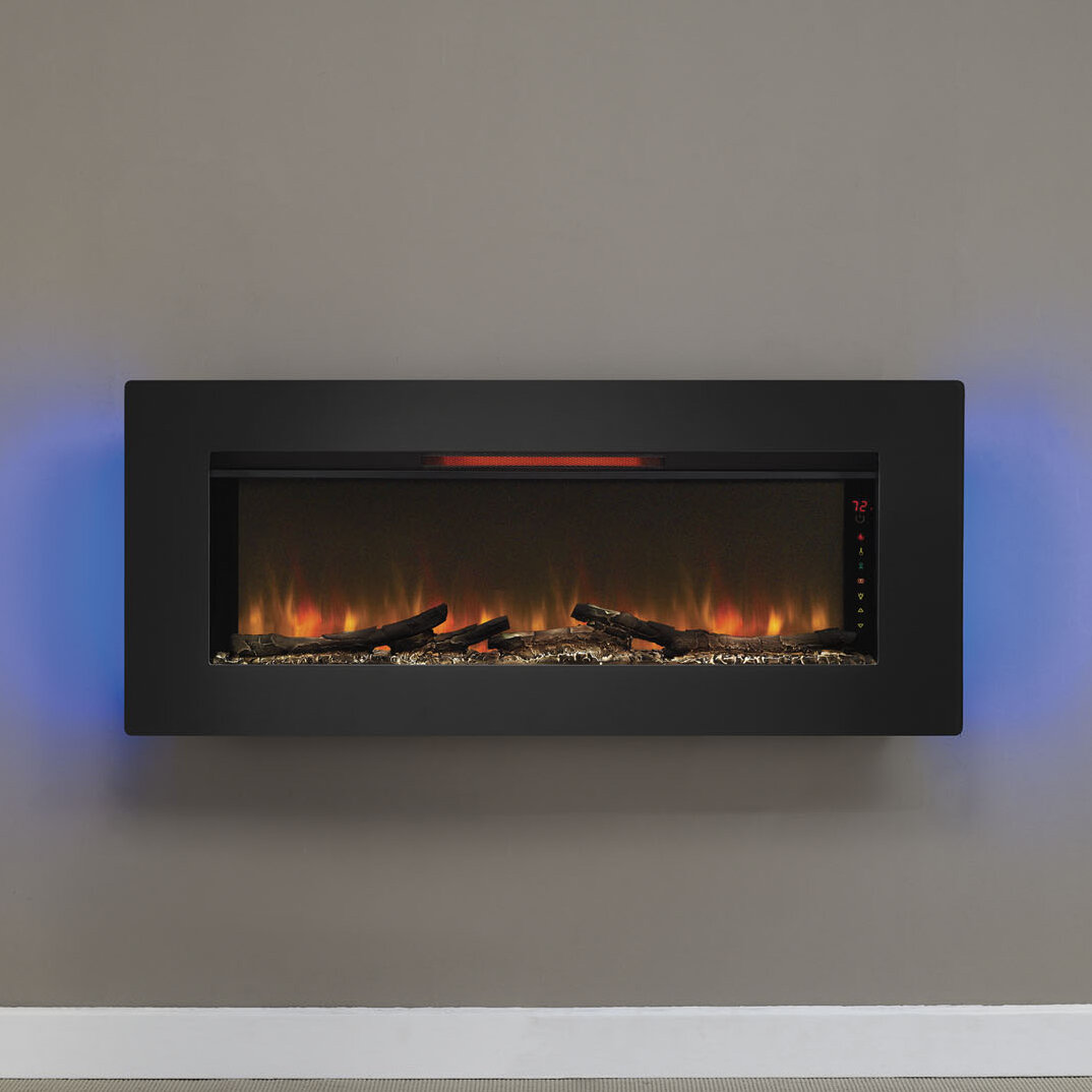flame linear amazon for kitchen wall multicolor luxury mount dp fireplace electric home fireplaces inch freestanding ca sale caesar recess