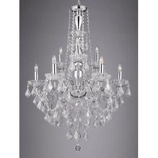 Check Prices Holton 9-Light Candle Style Chandelier By House of Hampton