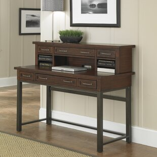 Rothbury Desk With Hutch by Three Posts #1