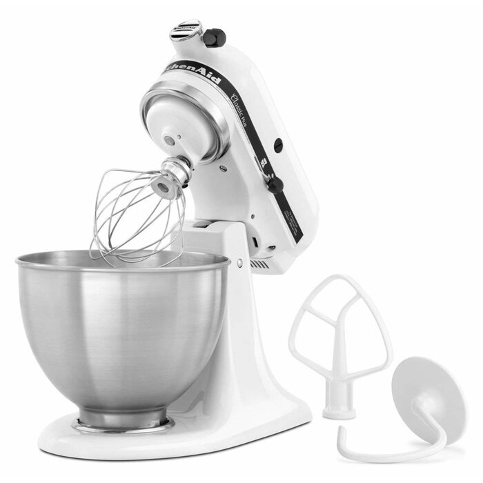KitchenAid Classic Plus 10 Speed 4.5 Qt. Tilt-Head Stand Mixer