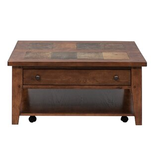 Warfel Occasional Coffee Table with Lift Top by Charlton Home