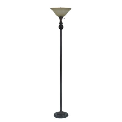 Black Torchiere Floor Lamps You Ll Love In 2019 Wayfair
