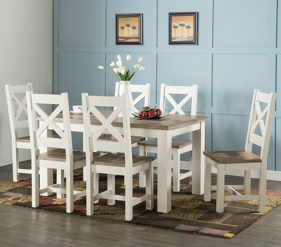 hazelwood home essgruppe westport mit 6 st hlen. Black Bedroom Furniture Sets. Home Design Ideas