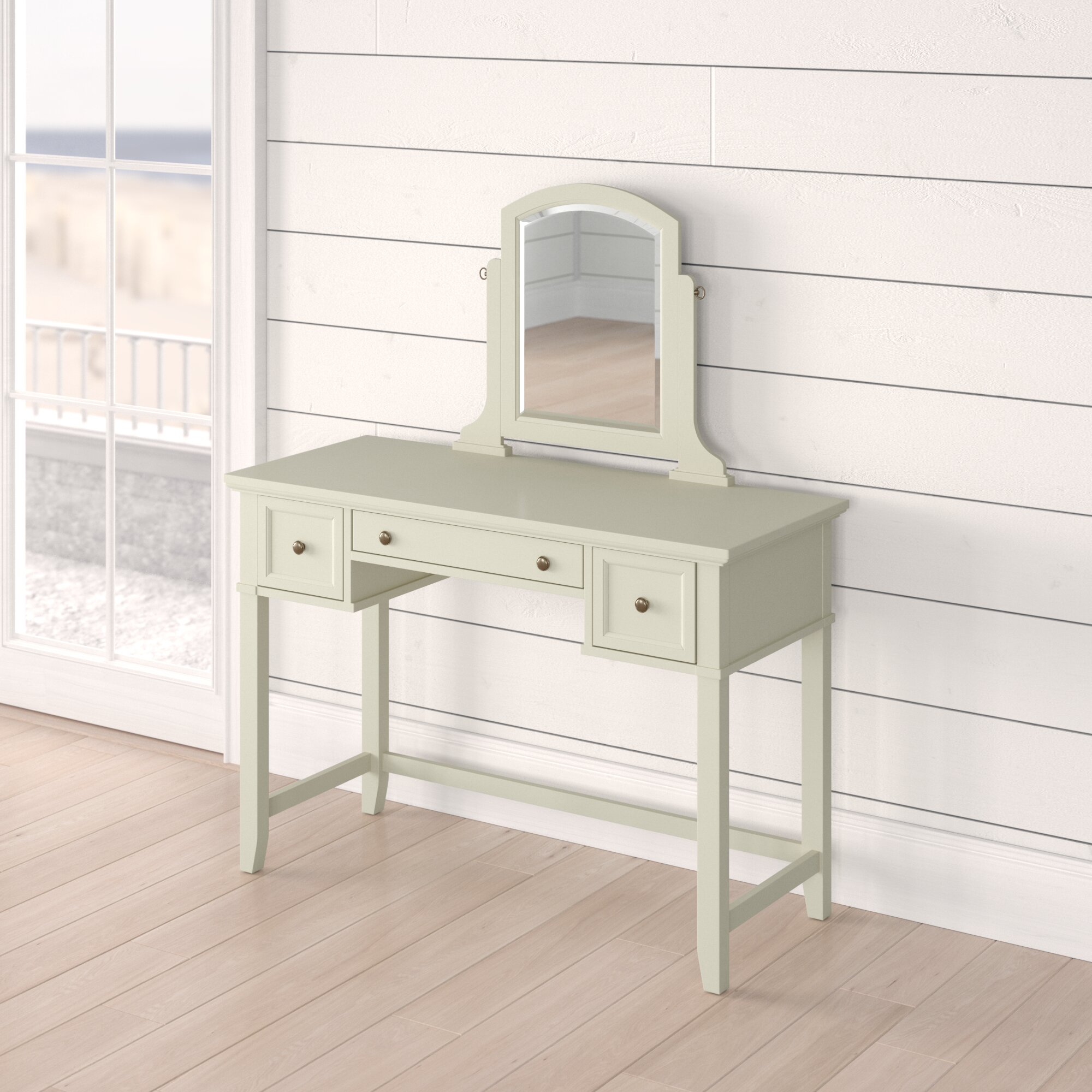 Rustic Cottage Country Makeup Vanities Free Shipping Over 35 Wayfair