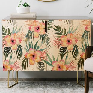 Schatzi Honolua Tropical Credenza by East Urban Home