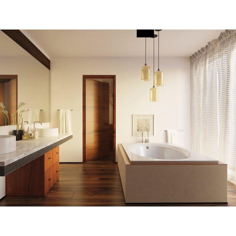 Americh Bel Air Luxury Series 66 X 42 Drop In Air Whirlpool Bathtub Wayfair