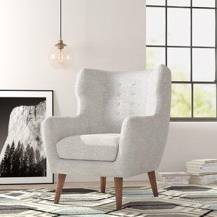 Ruben Wingback Chair by Corrigan Studio