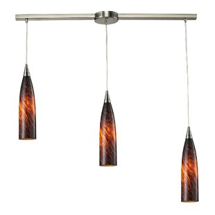Apolline 3-Light Cluster Pendant by Bloomsbury Market