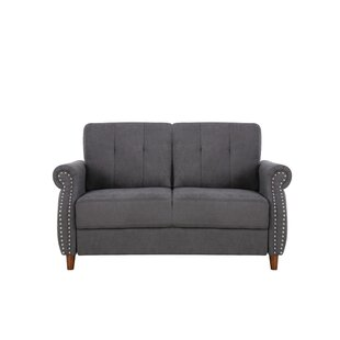 Sauter Loveseat by Charlton Home Great price