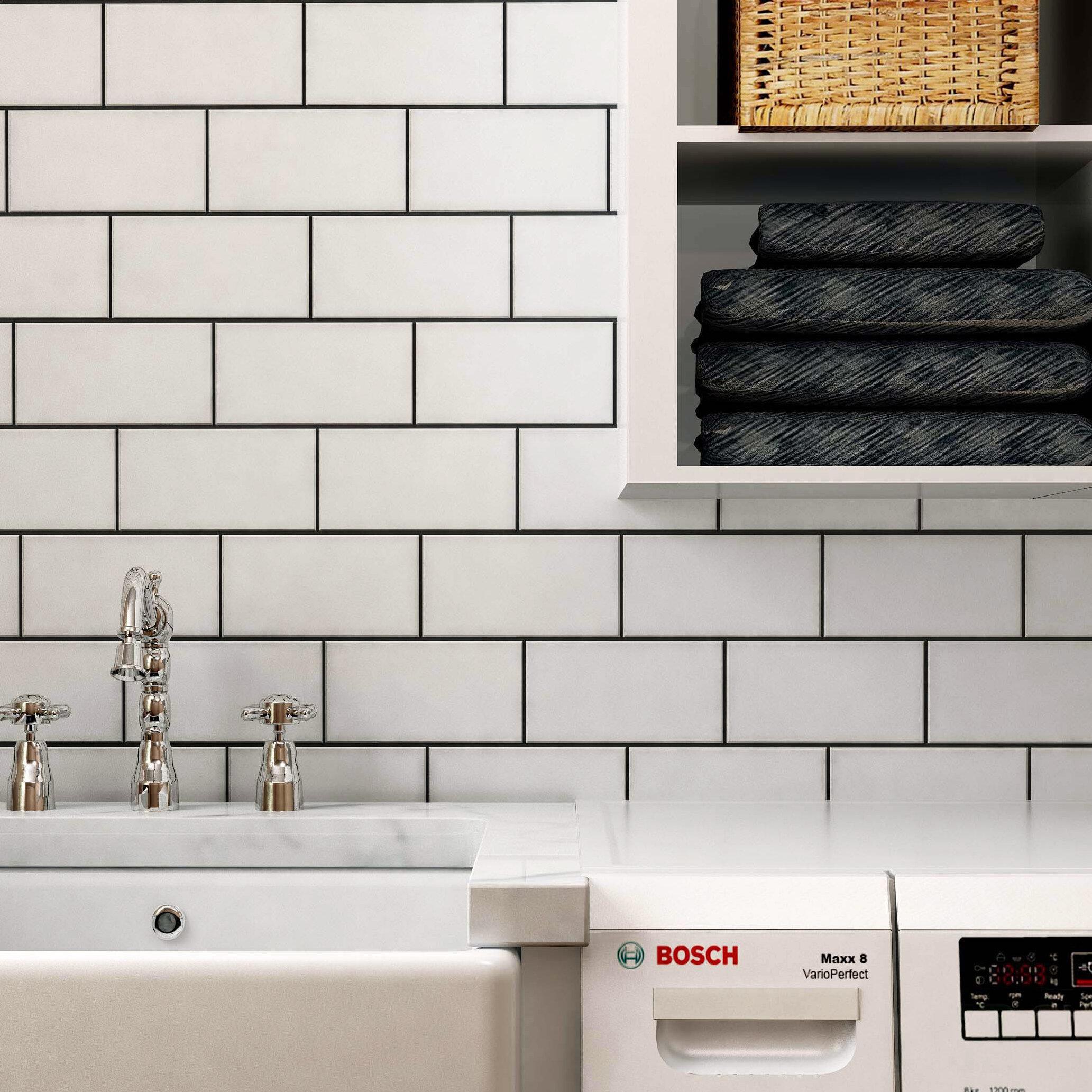 Subway Floor Tiles Wall Tiles You Ll Love In 2020 Wayfair