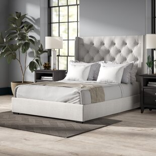 Affordable Fares Upholstered Bed by Lark Manor Reviews (2019) & Buyer's Guide