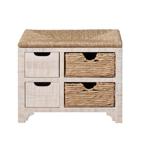 Doerr Wood Storage Bench