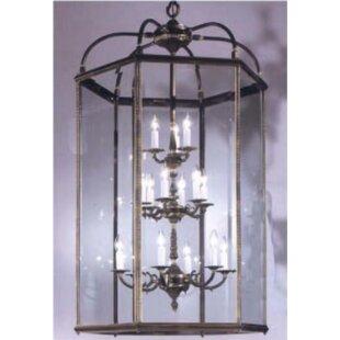Classic Lighting European 15-Light Outdoor Chandelier