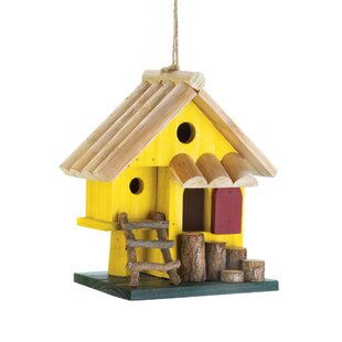 Zingz & Thingz Tree Fort 8 in x 8 in x 4.5 in Birdhouse
