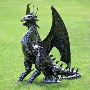World Menagerie Shook Draco Dragon Statue