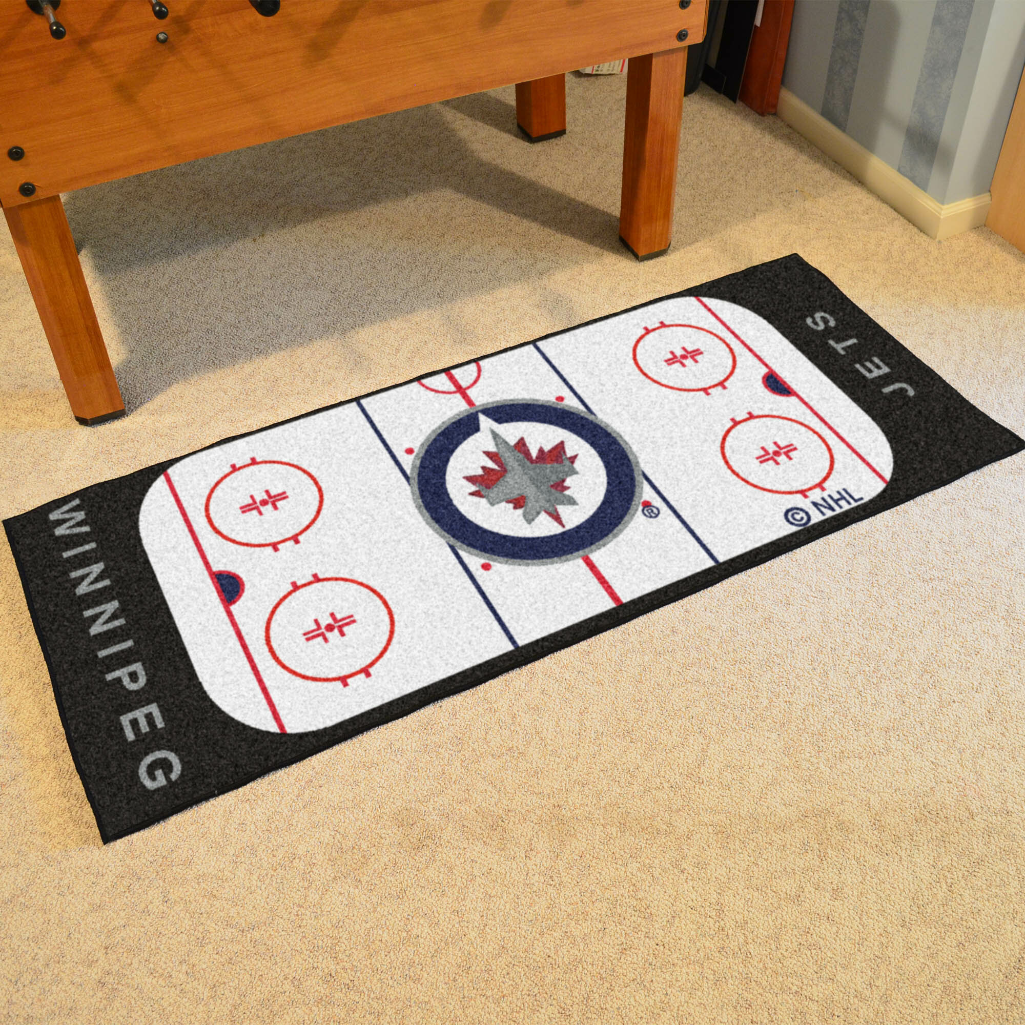 Fanmats Nhl Winnipeg Jets Rink Runner