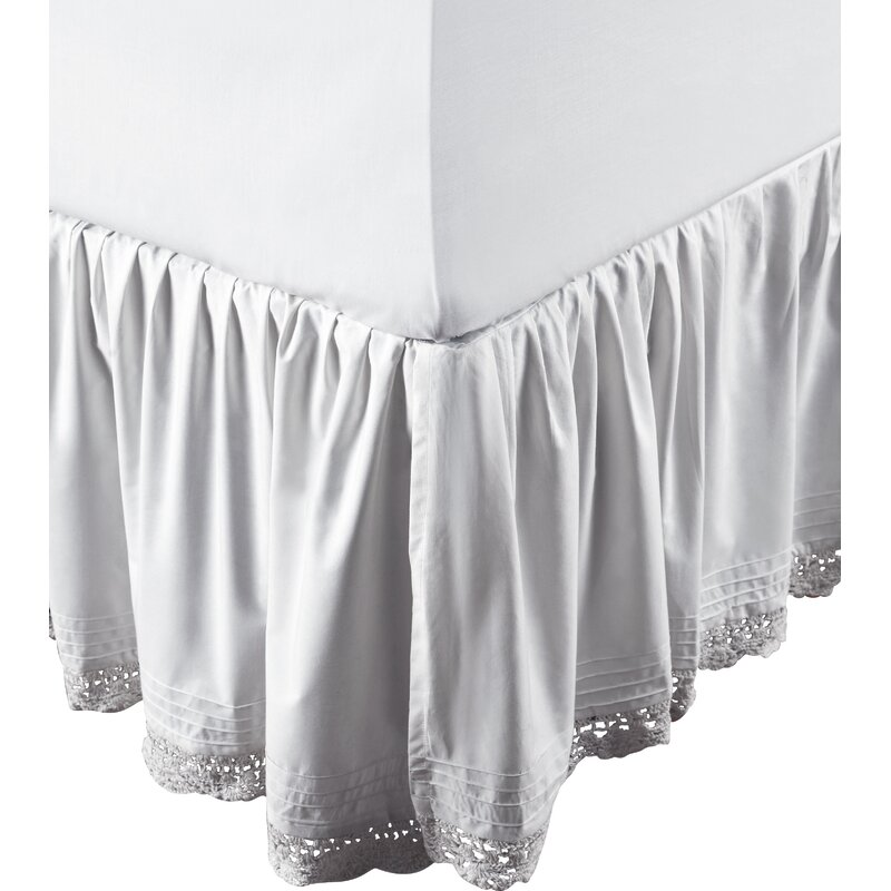 Marchant Crochet Cotton Bed Skirt
