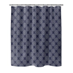 Swirls Single Shower Curtain