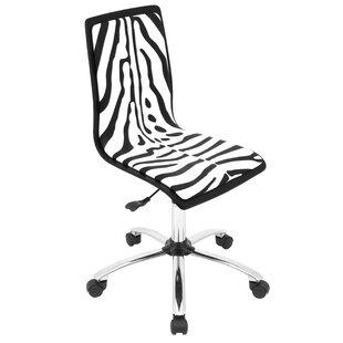 Gentil Animal Print Desk Chair | Wayfair
