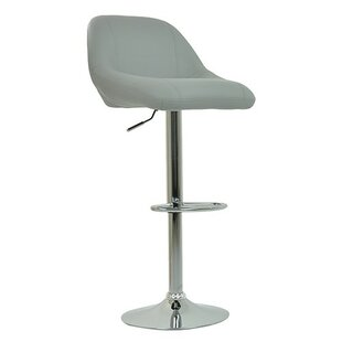Height Adjustable Bar Stool By 17 Stories