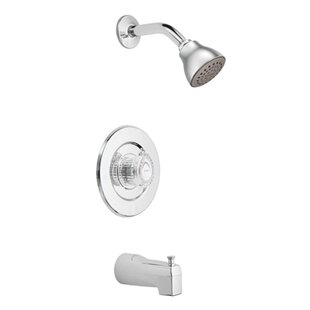 Searching for Chateau Tub and Shower Faucet Trim with Knob Handle and Select ByMoen