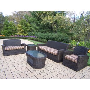 Savannah 5 Piece Sofa Set with Cushions