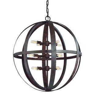 17 Stories Petrina 12-Light Globe Pendant