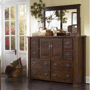 Loon Peak Bison Ridge 8 Drawer Combo Dresser..