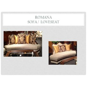 Romana 2 Piece Living Room Set by Benetti's Italia